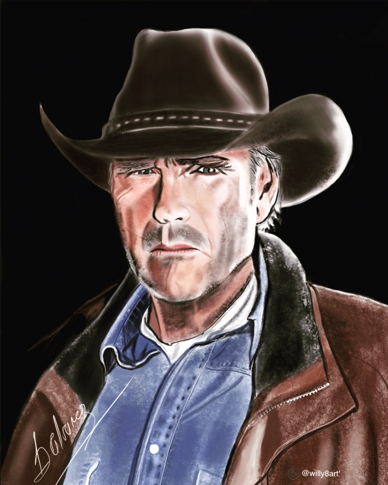 Robert Taylor by Willy8art